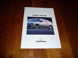 Honda CRX 1,6i 16 Prospekt