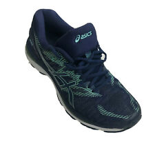 Asics Gel-Nimbus 20 Women's Size 9.5 Indingo Blue/Opal Green Running Shoes T850N