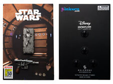 Star Wars Han Solo in Carbonite and Blaster 2 Pin Set 2019 SDCC Exclusive