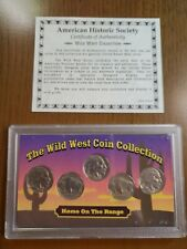 American Historic Society Wild West Coin Collection