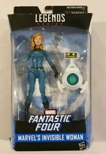 INVISIBLE WOMAN Marvel Legends Fantastic Four Walgreens Exclusive *Damaged Box*