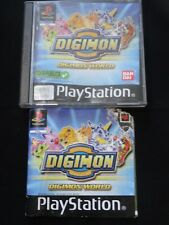 DIGIMON WORLD PLAYSTATION 1 PS1 PS2 PS3