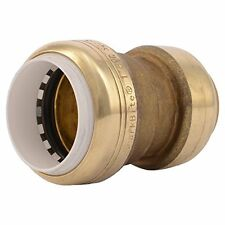 SharkBite PVC Fitting UIP4020A 1 inch X 1 inch CTS, PVC Connector to Copper, PEX