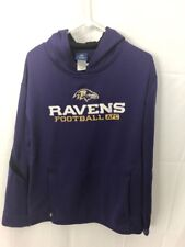 Baltimore Ravens Reebok On Field Therma Hoodie Full  Mens M Sweatshirt NFL