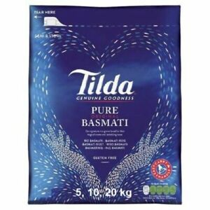 Original Tilda Basmati Rice Gluten Free Biryani Palau 5kg ,10kg & 20kg