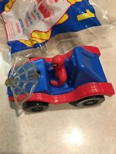 McDonalds Happy Meal Spiderman Vehicle Car Marvel Super Heroes in Bag
