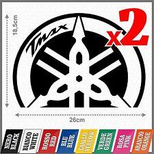 2x Yamaha Tmax BLACK Diapason Scudo ADESIVI PEGATINA STICKERS AUTOCOLLANT VIMIL