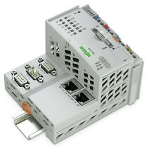 WAGO PFC200 750-8216 Controller, 2 X ETHERNET, RS-232/-485, CAN, PROFIBUS Slave