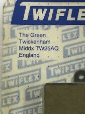 TWIFLEX INDUSTRIAL BRAKE DISC PADS TW25AQ [10 Individual Pads Shown]