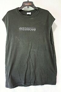 """Adult Size XL Black """"TOBY KEITH UNLEASHED 2002"""" Concert Sleeveless T-Shirt"""