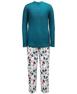Family Pajamas Matching Men's Mitten Print Pajama Set Multicolor Size M
