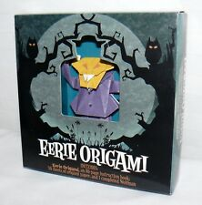 Eerie Origami Paper Art Halloween Wolfman Construction Spooktacular Crafts 2009