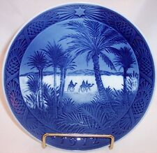 "Royal Copenhagen""In the Desert""Christmas Collector Plate, 1972"