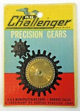 1960's K&B CHALLENGER#564 SPUR GEAR .35 40T .125 5/40 THREAD 1:24 1:32 slot car
