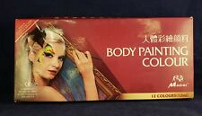 Madisi Body Paint Set - 12 colours ( 12 Ml )