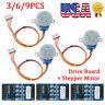 3/6/9 DC5V Stepper Motor 28BYJ-48 + ULN2003 Driver Test Module Board fit Arduino