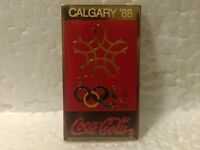 Coca Cola Colored Winter Olympics Calgary '88 Collectible Pin pin3514