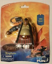 """Disney Treasure Planet John Silver 3"""" Figure Keychain In Package"""
