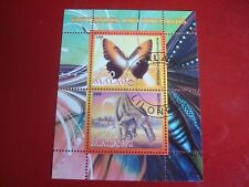 MALAWI: 2008 BUTTERLIES & DINOSAURS II MINISHEET UNMOUNTED USED MINIATURE SHEET
