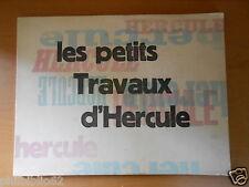 Curiosa / LES PETITS TRAVAUX D' HERCULE / Illustré 20 planches libres / Rare