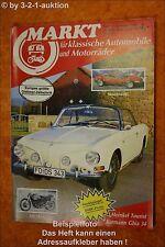 Oldtimer Markt 12/87 VW Karmann Ghia Monteverdi Hai