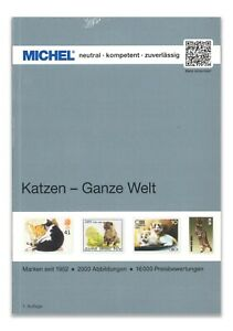 Michel Stamp Catalogue - Cats Topic World Issues 264 Full Colour Pages