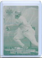 1/1 MO VAUGHN 2000 PACIFIC VANGUARD CARD PRINTING PLATE LA ANAHEIM ANGELS 1 OF 1