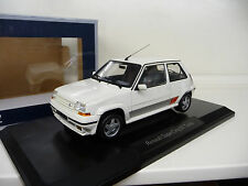 Renault 5 GT Turbo Supercinq white Norev 1:18 NEW FREE SHIPPING  WORLDWIDE
