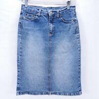 Size Small Denim Skirt Womens Blue Jean Skirt Forever 21 USA Made