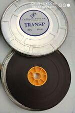 Bobine  amorce 35mm transparente de baecke