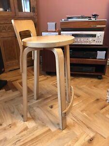 Alvar Aalto Vintage K65 stool 1960