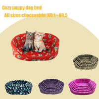 Portable Warm Cozy Puppy Dog Cat Kitten Pet Bed Soft Cushion Basket Sofa Couch