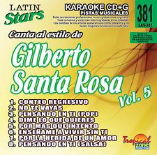 Karaoke Latin Stars 381 Gilberto Santa Rosa Vol.5