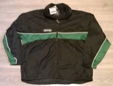 "Mens black green PROSTAR track training jacket windbreaker Size XL 46/48"" chest"
