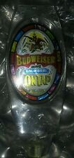 VINTAGE BUDWEISER TAP HANDLE Keg Bud Beer Rainbow Stained Glass Rat Rod Harley