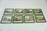 Vintage Lady Clare London Traditional Hardboard Placing Mats 8 Coasters Barware
