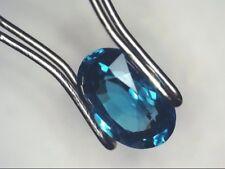 1.63ct Blue Zircon Gemstone