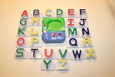 Leap Frog Magnetic Letters A to Z  with Fridge Phonics Lot Homeschool Teacher