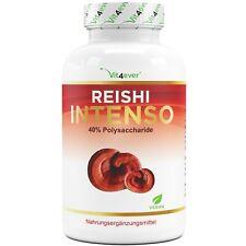 Reishi Intenso Pilz - 180 Kapseln - 650 mg Extrakt 40% Polysaccharide - Vegan