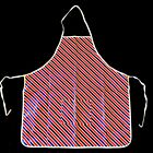 Target Red, White And Blue Striped Grilling Apron Fourth of July w/ Front Pocket