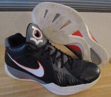 RARE 2011 Nike Zoom KD III 3 Carbon Fiber Black Orange Men's Shoes size 10