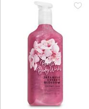 3 Bath and body works Japanese cherry blossom creamy luxe hand soap 3×8oz