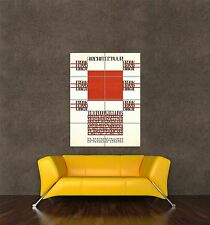 Giant imprimé Poster ARCHITECTURE Frank Lloyd Wright Amsterdam Pays-Bas pdc077