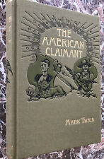The American Claimant, BEST Facsimile of 1892 First Edition~Mark Twain