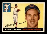 1955 Topps Set Break # 178 Bobby Adams EX *OBGcards*