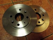 Rear brake disc set, Mazda MX-5 1.6 mk1, Eunos, MX5, pair of 231mm solid discs