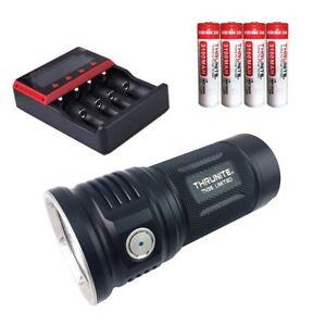 ThruNite Bundle: TN36 limited 11000 lumens Cool White+ MCC-4S+3100*4