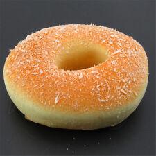 10CM Yummy Coconut Shred Donut Kawaii Squishy Bread Toy Bakery Display Decor NEW