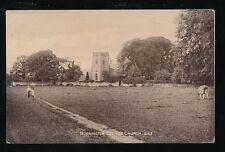 Somerset BURRINGTON COMBE Church early PPC Scuffs c1900s?
