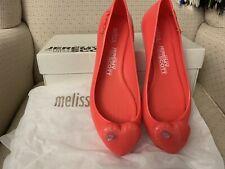 Melissa x JEREMY SCOTT  Space Love Heart Ballerina Flats. Size Uk 4 EUR 37